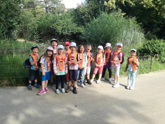 Kindergartenreise Zoo Basel